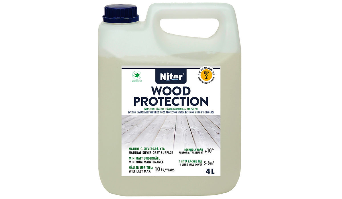 Nitor® Wood Protection -puunsuoja